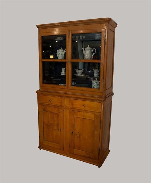 Vitrinenschrank 210x120x050 Kirschbaum 1830