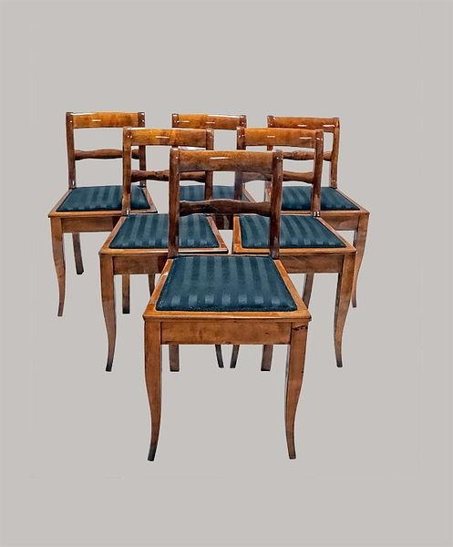 6er Satz Stühle 050/083 Birke 1835