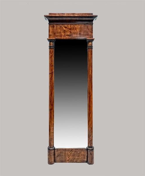 Spiegel 055x162 Esche 1830