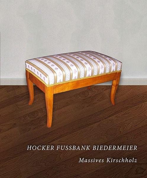 Exklusive Hocker und Fußbänke Archive - Antiquitäten Daniel C. Nagel ...