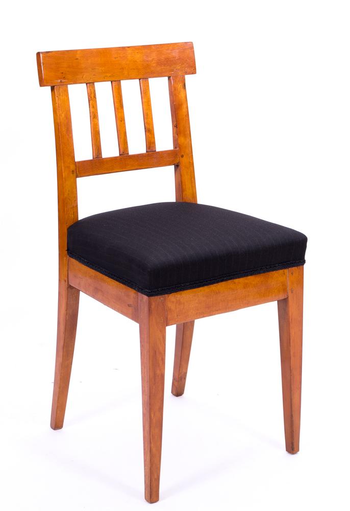 originaler biedermeier stuhl massivholz 1830 antiquit ten daniel c nagel bad honnef. Black Bedroom Furniture Sets. Home Design Ideas