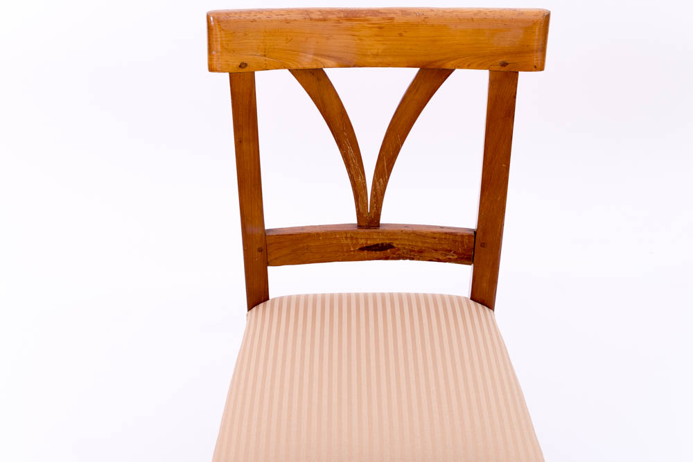 biedermeier stuhl kirschbaum massiv 1820 antiquit ten daniel c nagel bad honnef. Black Bedroom Furniture Sets. Home Design Ideas