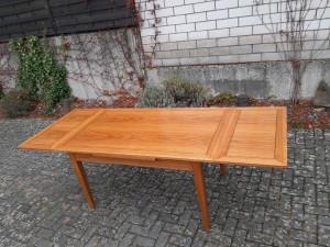 Tisch Esche ausgezogen