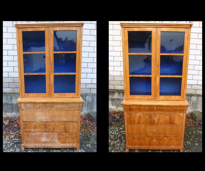 Aufarbeitung von alten Möbeln
