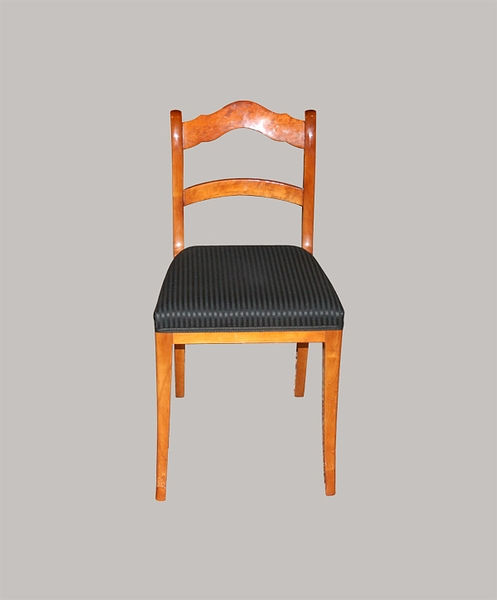 4er Satz Stühle Birke massiv+furniert 1835