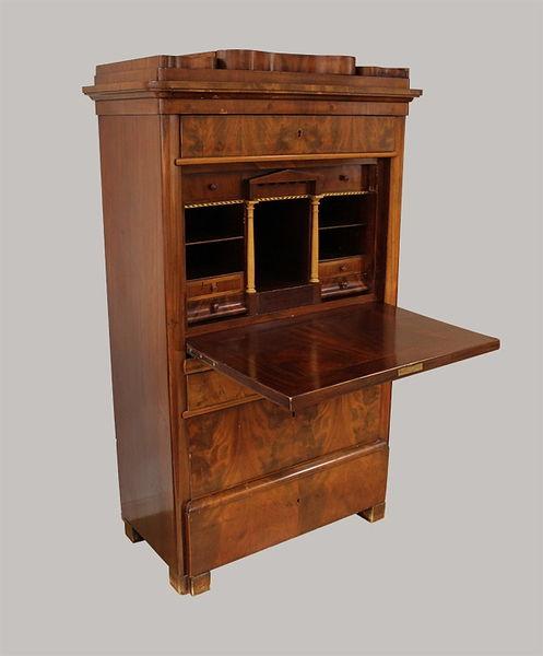 Sekretär mit Geheimfach 165x096x049 Mahagoni 1830