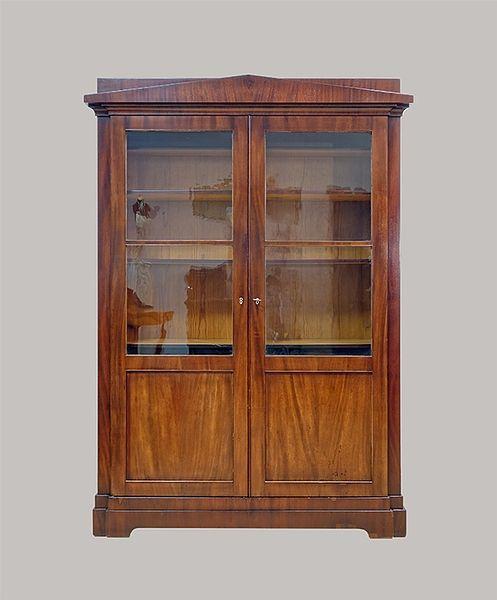 Bücherschrank 176x112x046 Mahagoni 1820