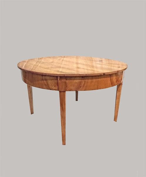 Tisch Durchmesser110 Höhe 065 Kirschbaum massiv 1820