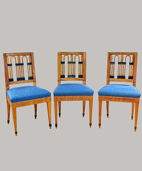 3 Stühle 045 Kirschbaum 1810