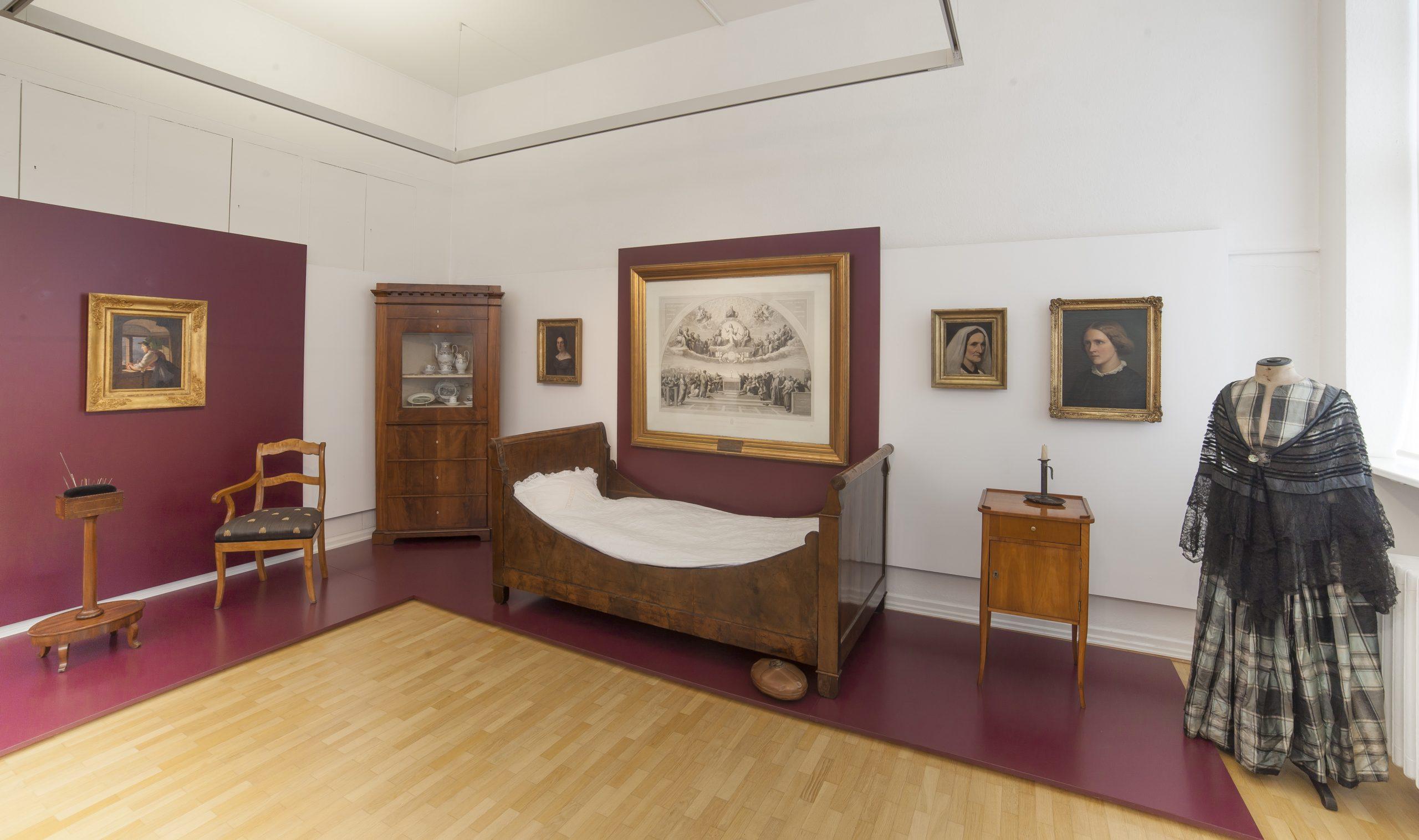 Bett von Goethe