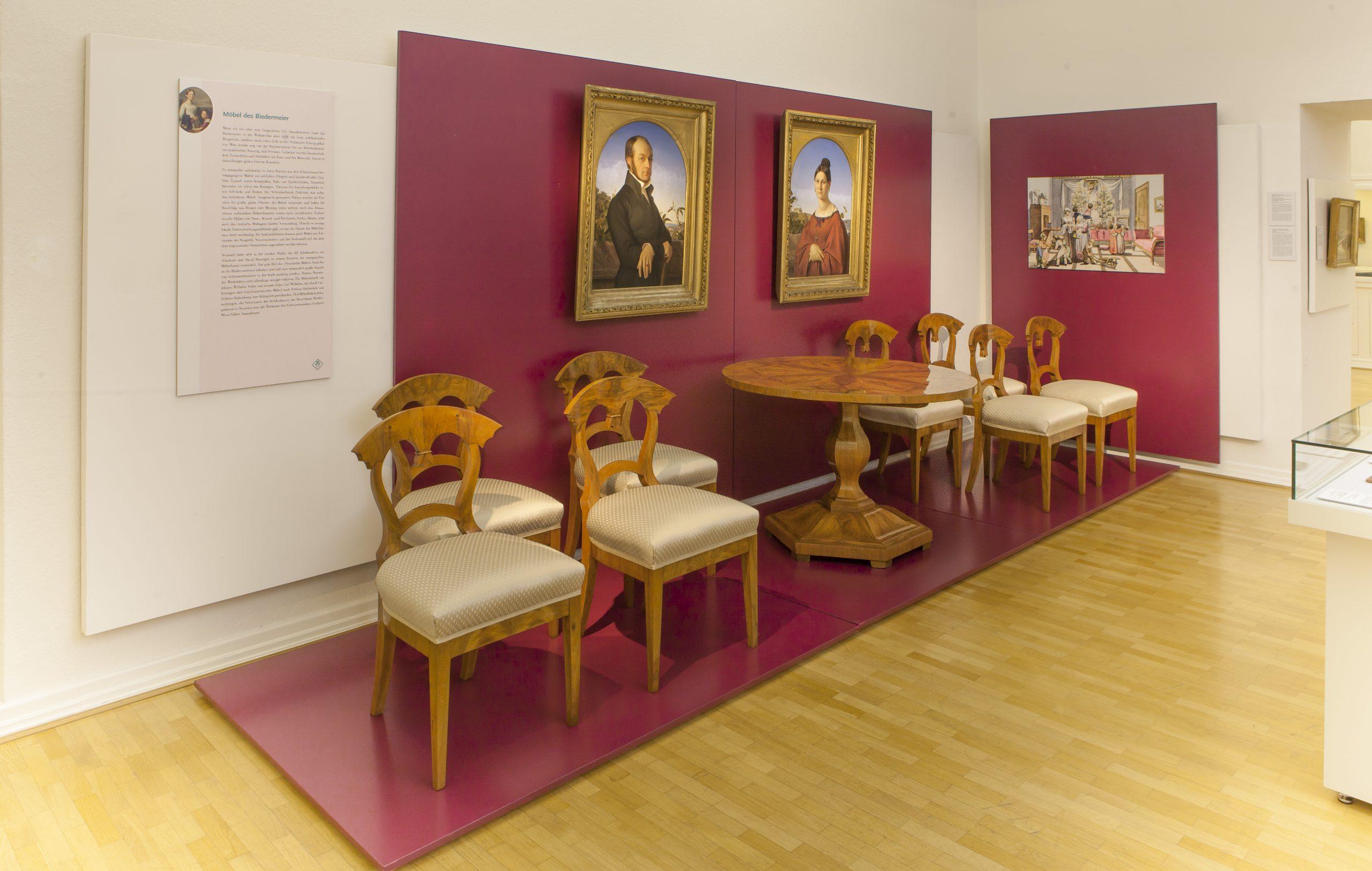 Roentgenmuseum Ausstellung Das Biedermeier